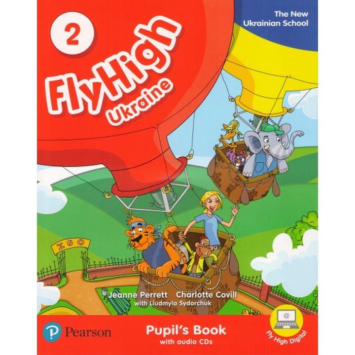 Fly High 2 STUDENTS BOOK +CD UKRAINE