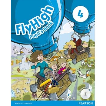 Fly High 4 STUDENTS BOOK + Audio CD