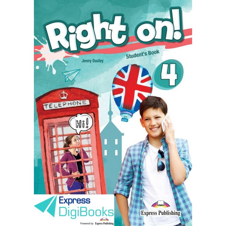RIGHT ON! 4 STUDENT'S BOOK DIGIBOOK APPLICATION (INTERNATIONAL)