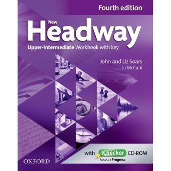 Headway (4th Edition) Upper-Intermediate Workbook with key