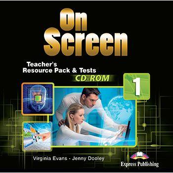 ON SCREEN 1 TEACHERS RESOURCE PACK & TESTS CD-ROM