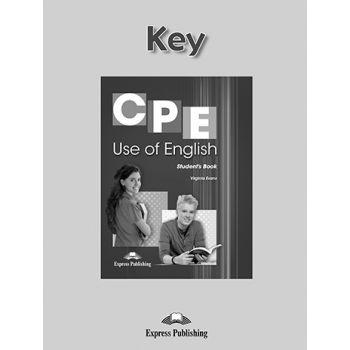 CPE USE OF ENGLISH KEY